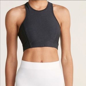 Outdoor Voices | Charcoal Gray Athena Crop NWT